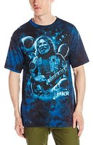Liquid Blue Men's Jerry Garcia Lovely View Of Heaven T-Shirt
