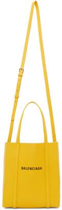 Balenciaga Yellow XXS Everyday Tote