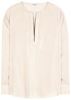 Brunello Cucinelli Silk-blend top
