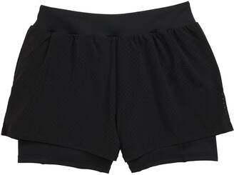 Zella Catch Your Eye Double Layer Athletic Shorts