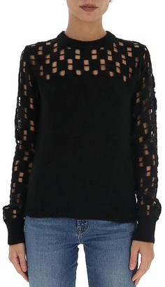See by Chloe Cut-Out Detail Sweater