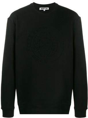 McQ Logo Embossed Sweatshirt