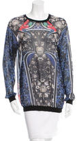 Clover Canyon Ornate Print Long Sleeve Top