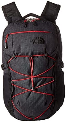 The North Face Borealis (TNF Black Light Directional Heather/TNF Red) Backpack Bags