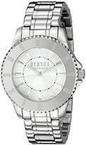 Versus By Versace Women's SH7190015 TOKYO Analog Display Quartz Silver Watch