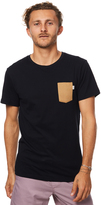 rhythm Basic Mens T Shirt Black