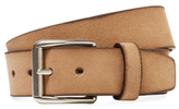 Berge Leather Square Buckle Belt