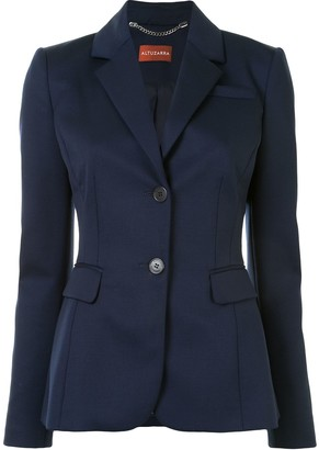 Altuzarra Fenice single-breasted wool blazer