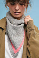 White + Warren Striped Cashmere Scarf