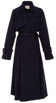 Sea Belted Twill Trench Coat