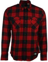 Levi's Men's San Francisco 49ers Plaid Button-Up Shirt