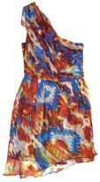 Rory Beca One Shoulder Drape Silk Dress