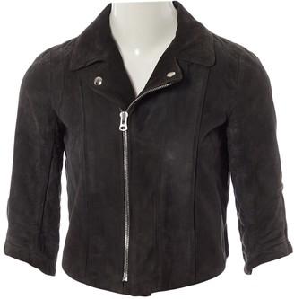 Heimstone Grey Suede Jackets