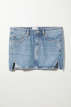 Weekday Parade Denim Skirt - Blue