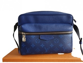 Louis Vuitton Outdoor Navy Leather Bags