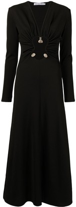 CHRISTOPHER ESBER Hiero long-sleeve ribbed dress