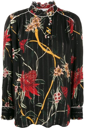 BA&SH Paulin floral blouse