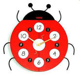 Nickelodeon Creative Motion Ladybug Wall Clock