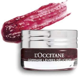 L'Occitane Delicious Lip Scrub - Raspberry Crush
