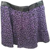 Karl Lagerfeld Paris Purple Skirt for Women