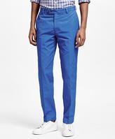 Brooks Brothers Clark Fit Supima® Cotton Poplin Pants