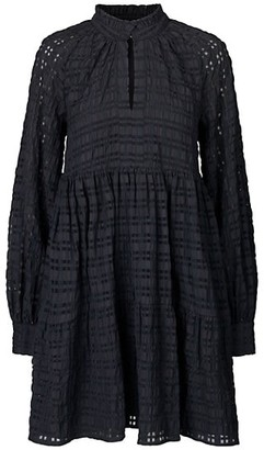 Stine Goya Jasmine Long-Sleeve Shift Dress