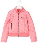 Vingino zipped bomber jacket - kids - Viscose/Polyurethane/Polyester - 4 yrs