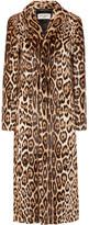 Saint Laurent Leopard-print Goat Hair Coat - Leopard print