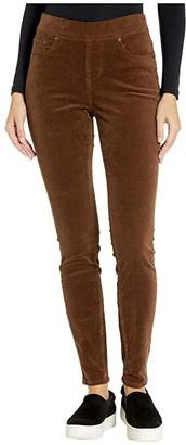 Jag Jeans Maya Skinny Pull-On Corduroy Pants (Black) Women's Jeans