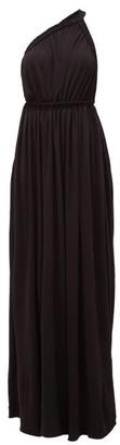 Matteau The One Shoulder Maxi Dress - Black