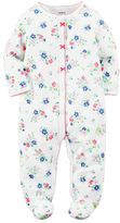 Carter's Baby Girl Floral Sleep & Play