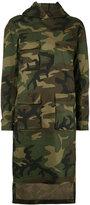 Numero 00 Numero00 - oversized camouflage sweatshirt - women - Cotton/Spandex/Elastane - XS
