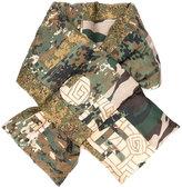 Pierre Louis Mascia Pierre-Louis Mascia padded camouflage scarf