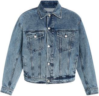 Ami Boxy-Fit Denim Jacket