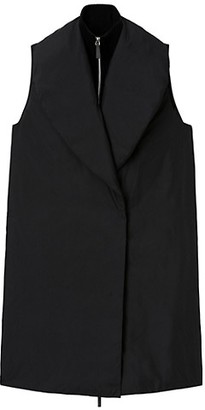 Lafayette 148 New York Briggs Knit-Combo Down Vest