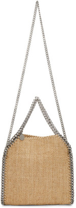 Stella McCartney Tan Mini Woven Falabella Tote