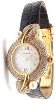 Cartier 18K Yellow Gold & Mother of Pearl Dial 24mm Womens Watch