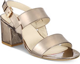 Rialto Caroline Block-Heel Sandals Women's Shoes