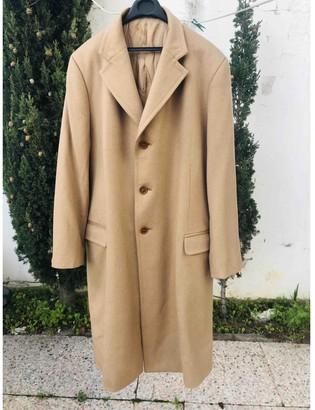 Valentino Beige Cashmere Coat for Women Vintage