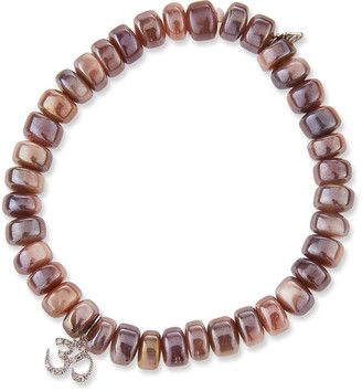 Sydney Evan Mauve Moonstone & Diamond OM Bracelet