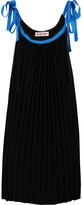 See by Chloe Pleated stretch-knit dress