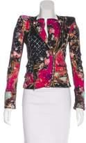 Balmain Floral Structured Jacket