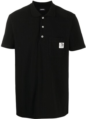 Diesel Mohawk Patch Polo Shirt