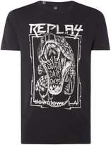Replay Compact Jersey Tshirt