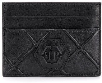 Philipp Plein Geometric Holder Credit Cards