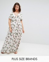 Alice & You Floral Maxi Tea Dress