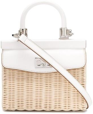 Rodo Top Handle Tote Bag