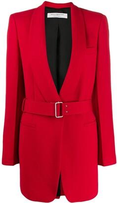 Philosophy di Lorenzo Serafini contrast belt jacket