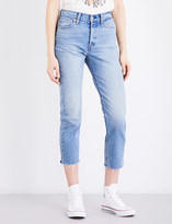 Levi's Wedgie-fit straight high-rise jeans