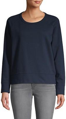 James Perse Roundneck Cotton Sweatshirt